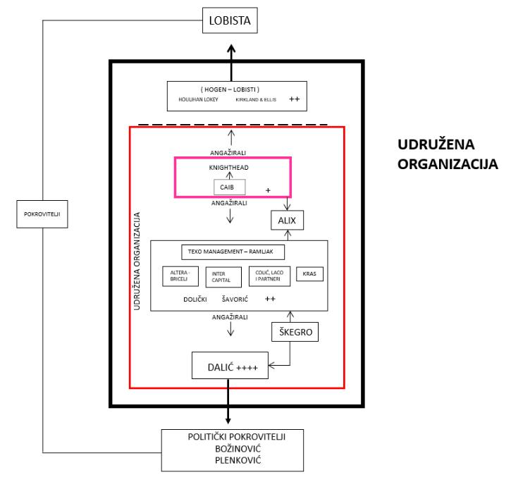 mreža kriminalne organizacije